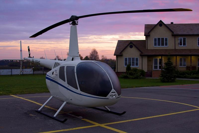 Robinson r66 hélicoptère expédition russie 360