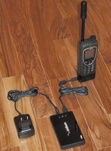 Телефон и модем системы связи Иридиум