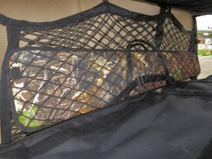 Оружие в специальной сумке в вертолёт